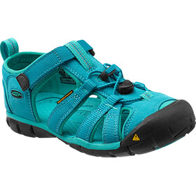 Keen Seacamp II CNX Sandals Kinder baltic/caribbean sea
